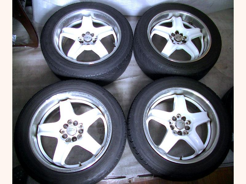 WEDS RS-5 alloy wheels rims 17 8J 5x100 5x114 BG5 GC8 S14 S13 R3
