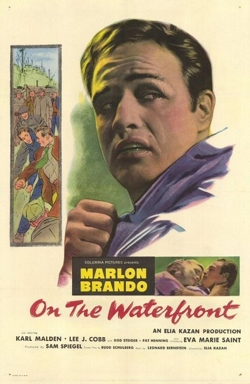 onthewaterfront Elia Kazan   On the Waterfront (1954)