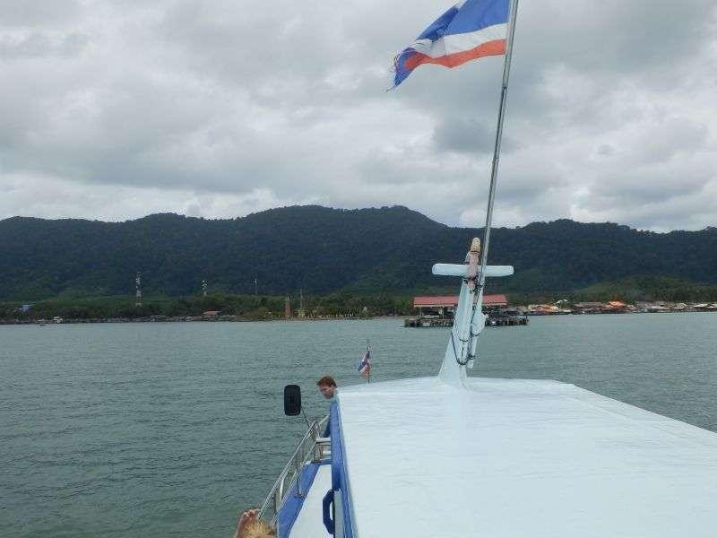 Ankunft auf Koh Lanta