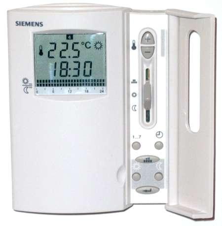 siemens underfloor heating controller instructions